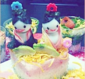 ひな祭りちらし寿司